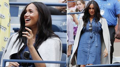 Meghan cheers on pal Serena Williams at US Open