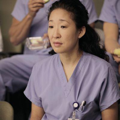 Sandra Oh as Cristina Yang: Then