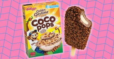Coco Pops and Golden Gaytime combine for decadent new cereal and ice-cream mash-ups