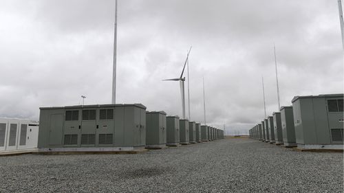 Despite Elon Musk's South Australia Tesla battery running at full capacity yesterday, power lapses were still seen - which was enough for the market operator to issue warnings for today. Picture: AAP.