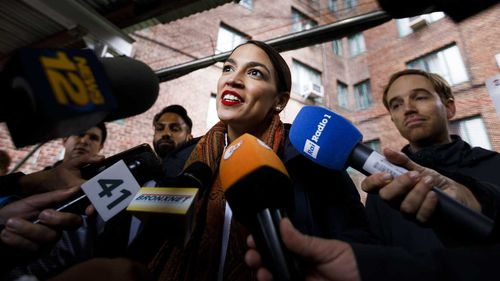 Alexandria Ocasio-Cortez .