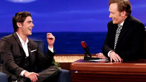 Watch: Zac Efron and Conan O'Brien can really sing!