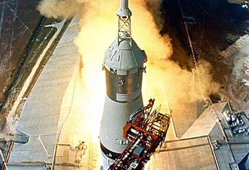 Apollo 11 Saturn V rocket (Getty)