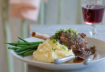 <strong>Lamb shank stew</strong>
