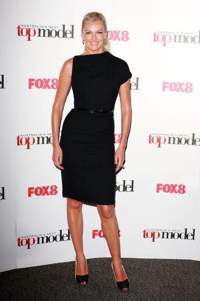 Sarah Murdoch arrives at the Australia's Next Top Model live final at Luna Park on September 28, 2010 in Sydney, Australia.