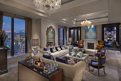 <strong>Presidential Suite, Mandarin Oriental, New York, New York City </strong>