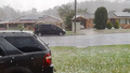 Coffs Harbour was hit by a severe storm this afternoon.