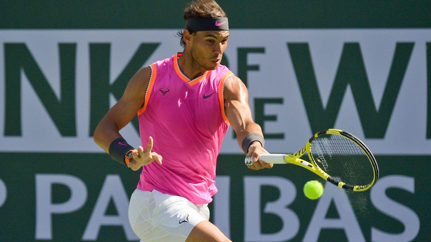 Indian Wells tennis tournament postponed due to coronavirus nearby