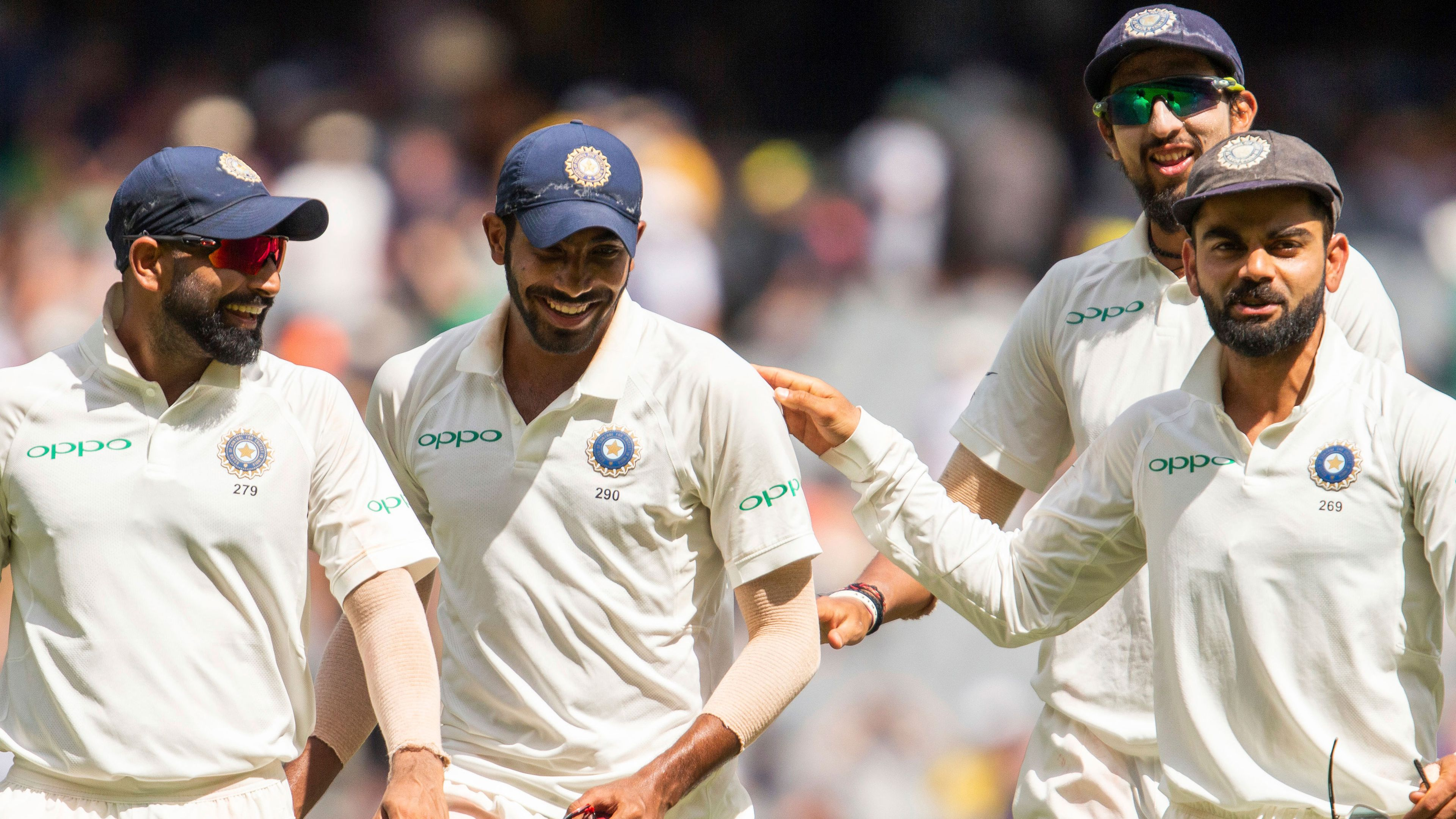 Australia v India day five snapshot