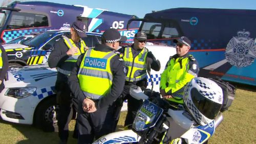 Victoria Police have unveiled their road-safety plan ahead of the Grand Final.