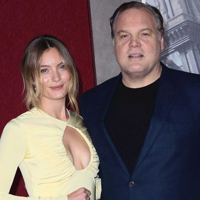 Leila George and her father Vincent D'Onofrio.