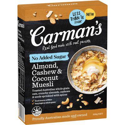 Carman's Almond, Cashew and Coconut Muesli