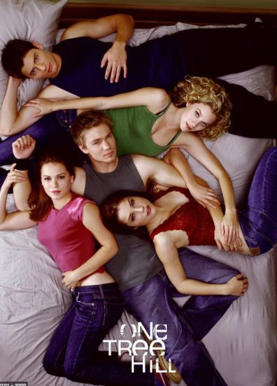 Sophia Bush and her One Tree Hill castmates.