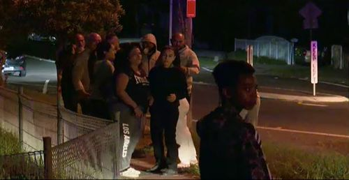 A girl aged 13 was taken to hospital after suffering a gunshot wound to the leg. (9NEWS)
