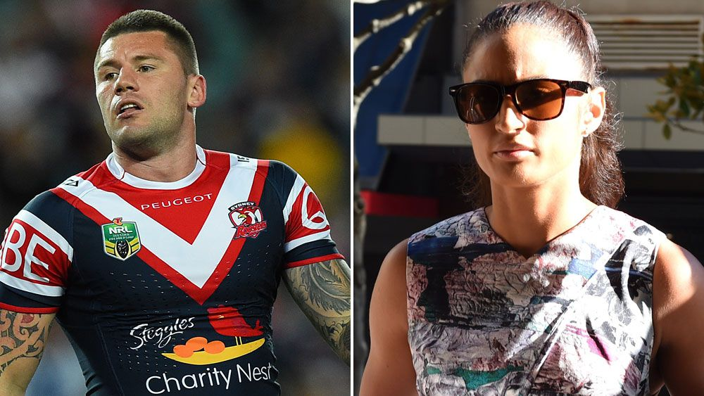 Shaun Kenny-Dowall and Jessica Peris. (AAP)