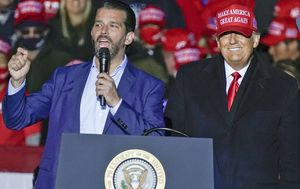 Donald Trump tweets son Don Jr doing well after coronavirus infection