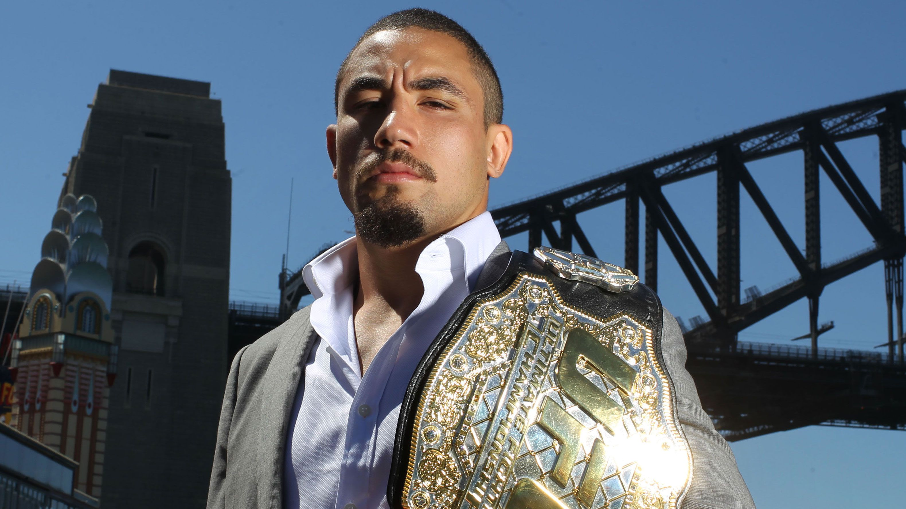 Aussie UFC star Robert Whittaker in line for title fights on home soil