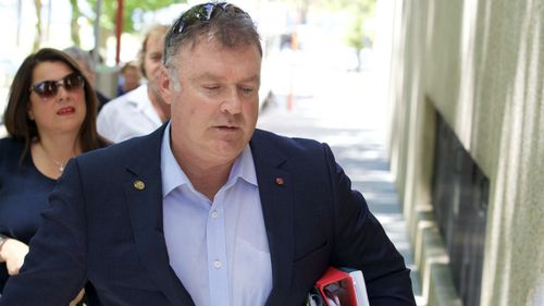 Former One Nation Senator Rod Culleton storms out of Federal Court
