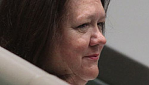 Rinehart's son referred to her as 'fatty' in email chain
