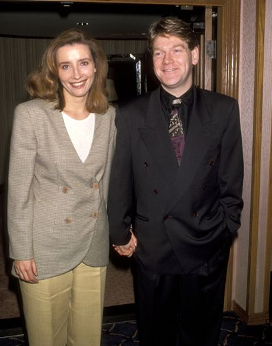 Emma Thompson and Kenneth Branagh at the 18th Annual LA Film Critics Association Awards, Bel Age Hotel, West Hollywood in 1993