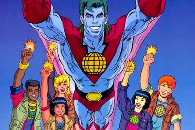 <B>Ran from:</B> 1990 to 1996.<br/><br/><B>Why it's awesome:</B> The power is yours! This show drilled the importance of safekeeping the environment into minds of an entire generation. Almost everyone who watched it still remembers the theme song. Plus, it featured a wide set of star spangled voices from Whoopi Goldberg to Meg Ryan and Tim Curry. (The only not awesome part was Ma-Ti, with the lame power of heart. WTF is that?)