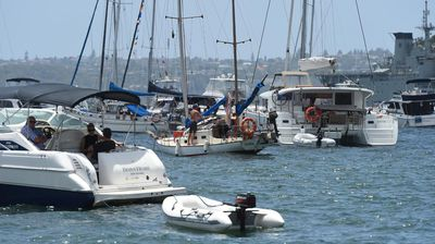 Up to 3000 boats are expected on Sydney Harbour. (AAP)
