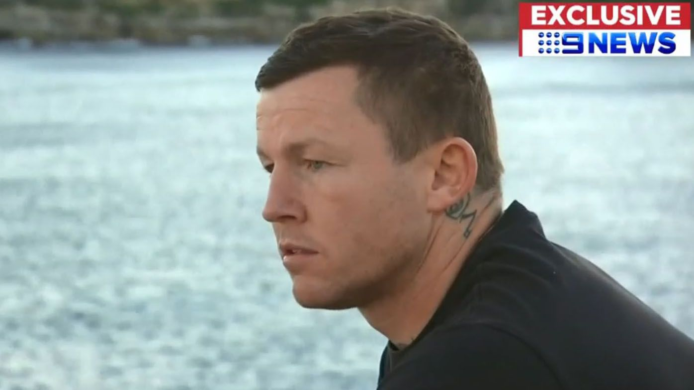 Todd Carney returns to Sydney to support mother battling breast cancer