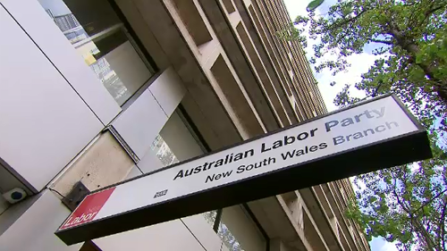 The NSW Labor party headquarters were raided by ICAC this morning.