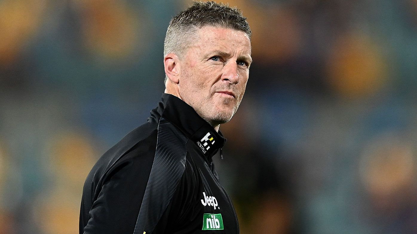 'Let them play': Damien Hardwick lashes 'trigger happy' umpires after Richmond's undisciplined loss
