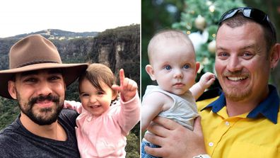 Sydney dads Geoffrey Keaton and Andrew O'Dwyer were killed when a fire truck rolled as they fought bushfires in NSW.