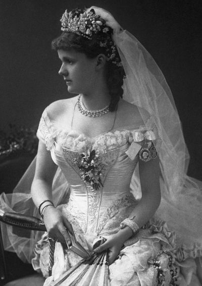 Princess Helena of Waldeck and Pyrmont, married 1882