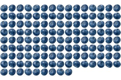 129 blueberries are 100 calories