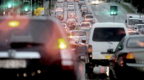 Melbourne's Western Ring Road has a speed limit of 100km/hr an hour but records an average weekday speed of just 78km/hr.
