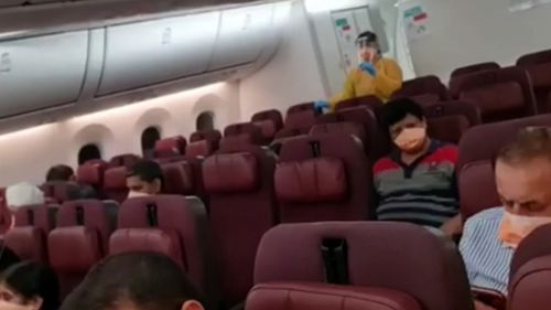 First repatriation flight from India touches down in Darwin