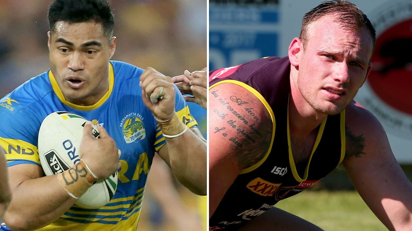 Kirisome Auva'a and Matt Lodge