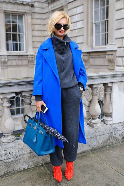 <p>Cold weather means fluffy oversized sweaters and comfy cardigans. These silhouettes may not be as sleek as tailored blazers and suits, but with the right styling they can be just as chic. Take inspiration from these street stylers to find the perfect balance between polish and comfort.  </p>