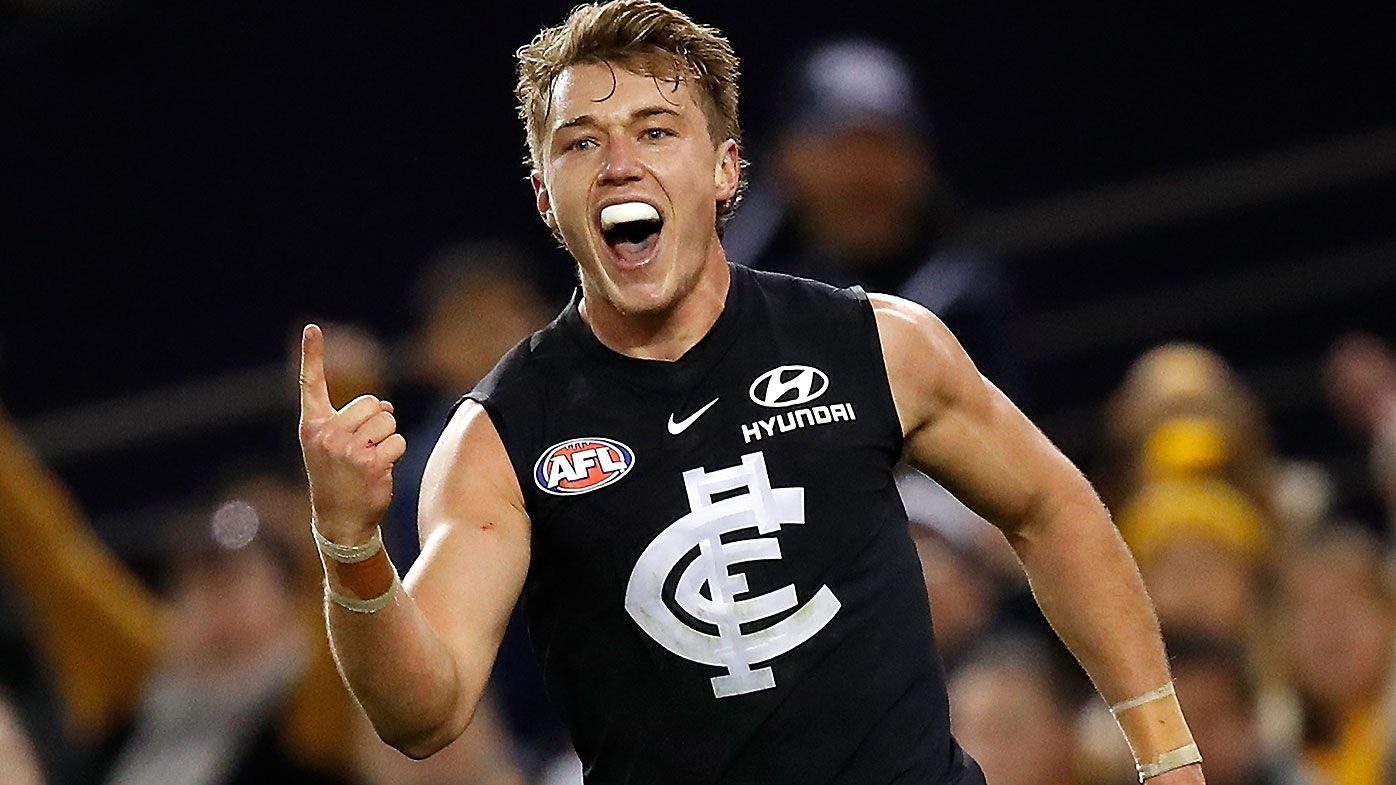 Patrick Cripps signs two-year contract extension to remain at Carlton