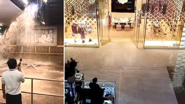 Heavy rainfall triggered flooding and mayhem in Dubai Mall last week.
