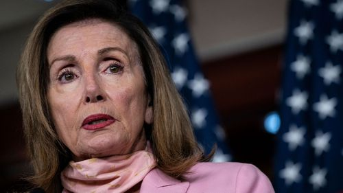House Speaker Nancy Pelosi, seen here in 2020, and her leadership team ran through their options on Jan. 7 and the overwhelming sentiment was impeachment was the way forward.