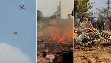 Indian Air Force plane collision pilot killed
