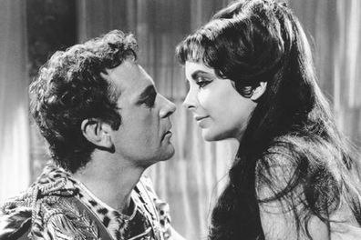 Ahhh, one of the most high-profile love affairs of all time, forged on the set of <i>Cleopatra</i> ... while both were still married!