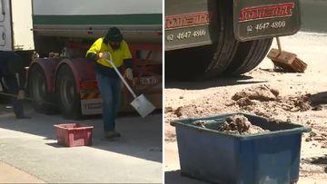Toowoomba manure truck spill