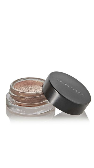 "<a href=""http://www.net-a-porter.com/product/549157/Kevyn_Aucoin/the-eye-pigment-primatif-champagne"" target=""_blank"">The Eye Pigment Primatif in Champagne, $51.72, Kevyn Aucoin.</a>"