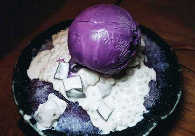 7. Purple 'ube' desserts