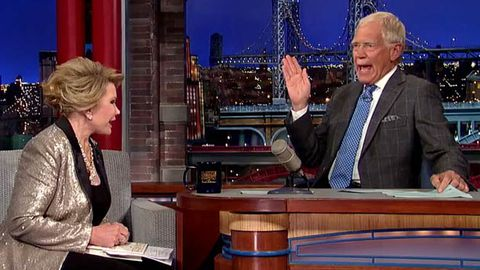 Watch: David Letterman walks out of Joan Rivers interview... after her own epic TV storm-out!