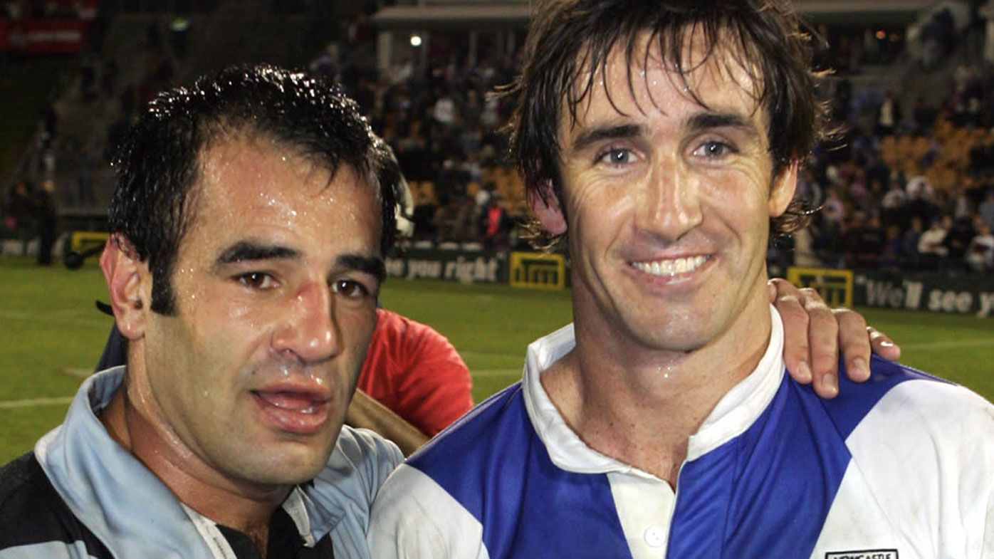 Andrew Johns' hilarious clash with Stacey Jones during Auckland bender