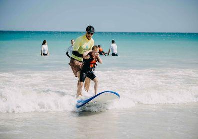 Ocean Heroes child autism surfing Broome