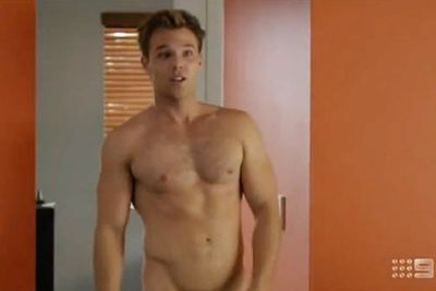 Uhhh, he's naked again! Lincoln dropped his clothes again for Nine's 2012 comedy-drama series <i>Tricky Business</i>, playing another surfer, Chad Henderson.<br/><br/>As the son of a family with a debt collection business, Chad got himself into tricky dilemmas... often involving his womanising ways.<br/><br/>Image: Nine