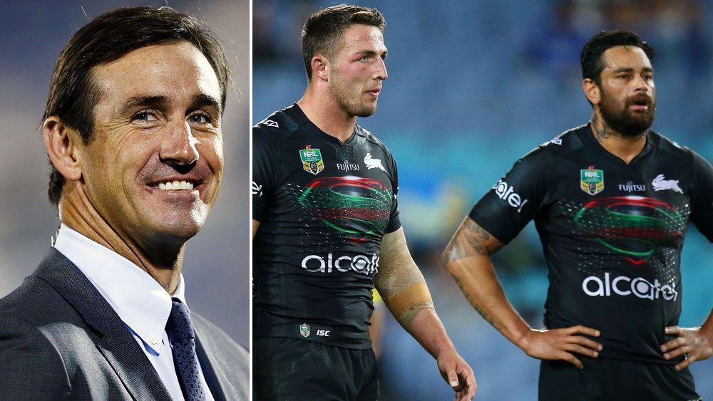 NRL 2017: Andrew Johns slams South Sydney Rabbitohs after poor display against Parramatta Eels