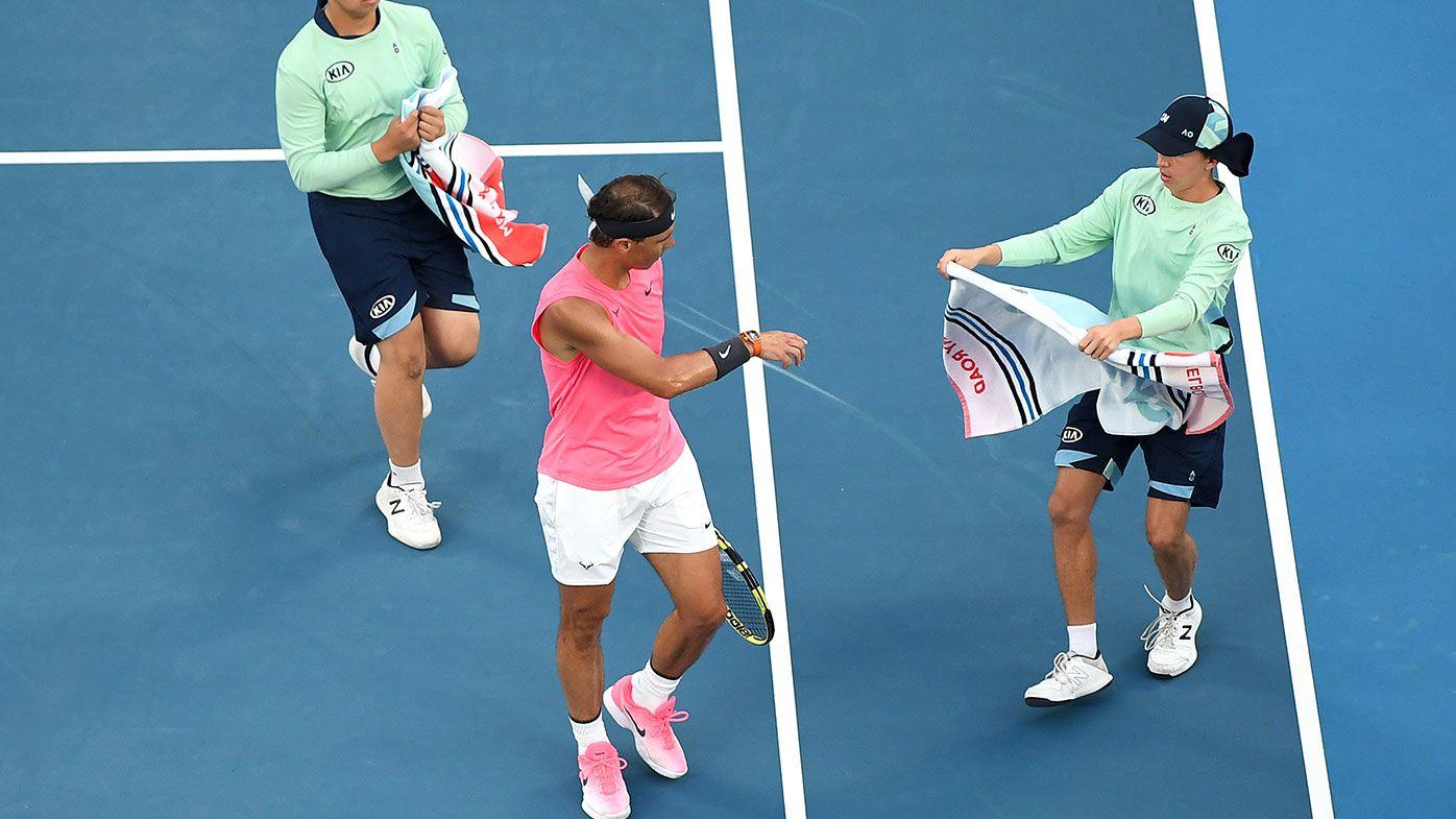 Rafael Nadal booed following ballkid incident at Australian Open